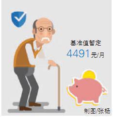 湖南企业职工养老保险缴费基数基准值暂定4491元/月