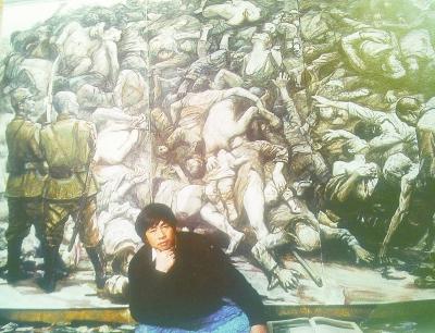 """项目《南京大屠杀》被""""国博""""收藏后有哪些健康测试的高中体质油画图片"""