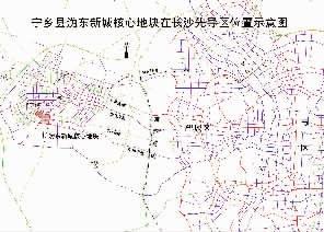 宁乡县沩东新城核心地块招商公告