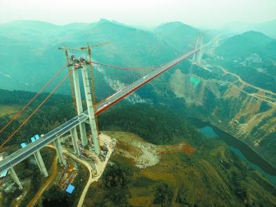 报纸桥梁结构