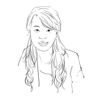 长沙学院校园手绘图