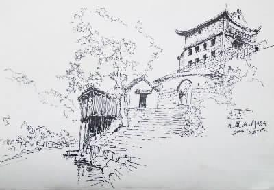 简笔画 手绘 素描 线稿 400_277