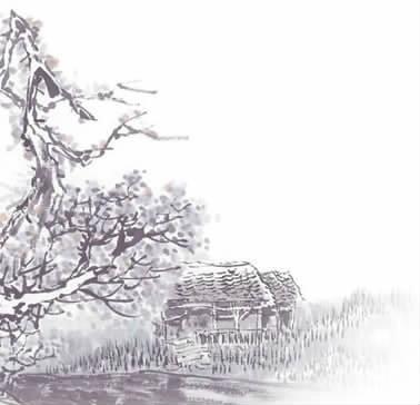 朱自清春的图片简笔画