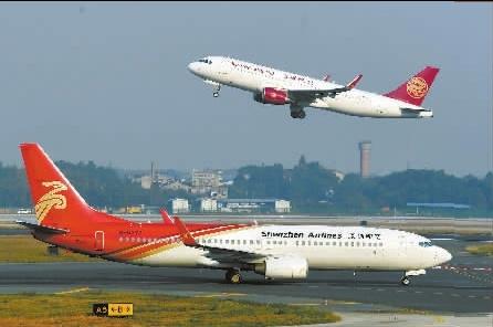11月2日,长沙黄花国际机场起降的航班.湖南日报记者 郭立亮 摄
