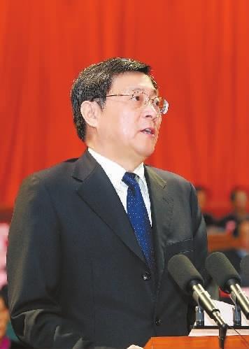 省政协十二届一次会议开幕 杜家毫发表讲话