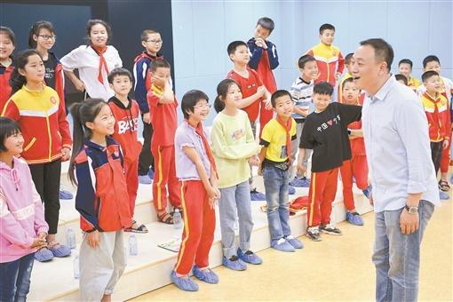 心在歌唱 梦在飞翔——记祁东县启航学校留守儿童合唱团