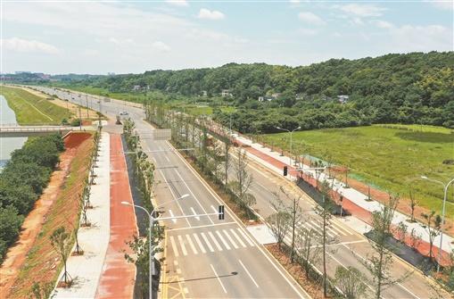 长沙河西到湘潭再添城市主干道