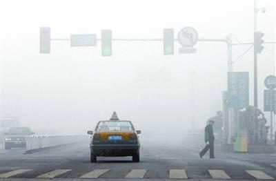 全省高速大范围起雾