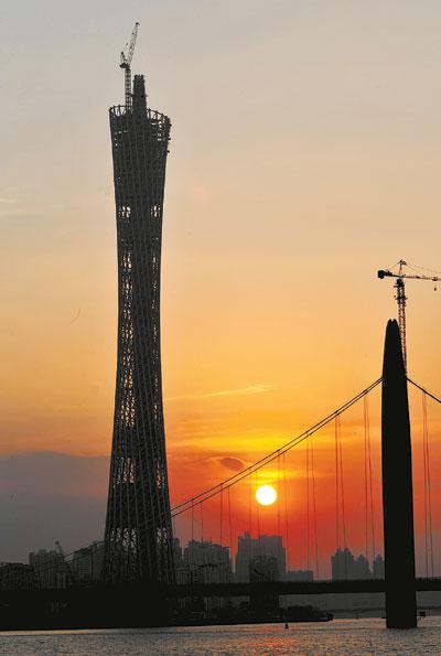 记者从广州新电视塔建设公司获悉