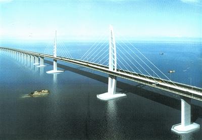 港珠澳大桥工程开工