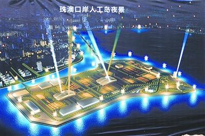 下:港珠澳大桥收费站效果图. 均为新华社发