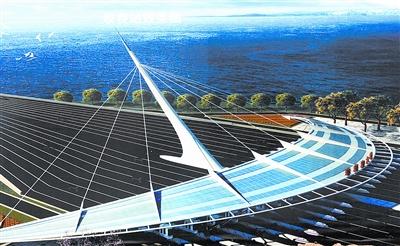 珠港澳大桥规划全景